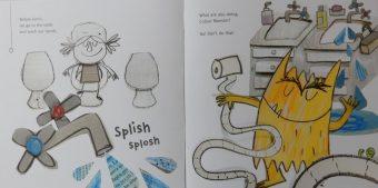 The Colour Monster Goes To School Beautiful Bananas Red Reading Hub Jillrbennett S Reviews Of Children S Books