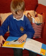 Samuel experimenting with combinations